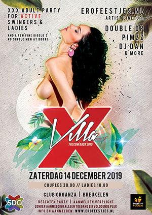 14 december 2019 | Villa X